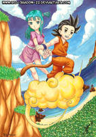 :Dragon Ball: by Red-Sinistra