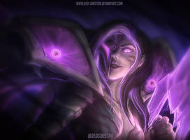 League of Legends: Kai'sa - Daughter of the Void by Red-Sinistra