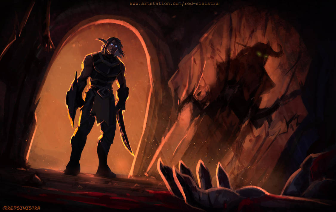 Wow Battle Of Mount Hyjal Prelude By Red Sinistra On Deviantart