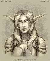 WoW - Lore, The Rogue (Pencil) by Red-Sinistra