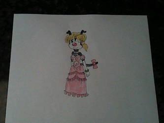 Toffee Sillytoon in her Formal Attire by CapricornDiem456