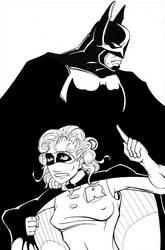 Batman  Robin for Kara by MuShinGirl