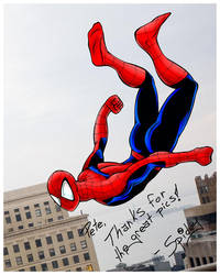 Spidey Color by MuShinGirl