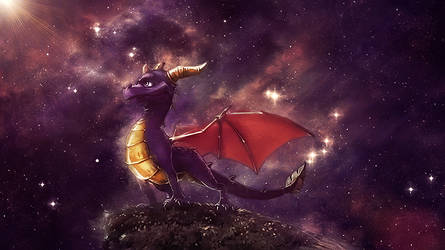 Wallpaper Spyro by daminor26