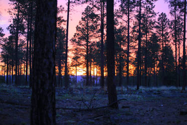 Mogollon Sunset by Soul-Schism