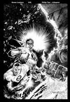Green Lantern 39 Cover by JonathanGlapion