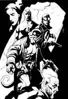 Hellboy commission by JonathanGlapion
