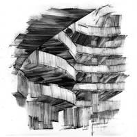 Guggenheim Interior by DarylAlexsy