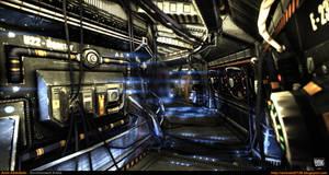 Sci-Fi Corridor v.2 [UDK] by amirabd2130