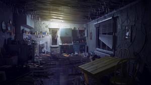 Abandoned Kitchen [UE4] by amirabd2130