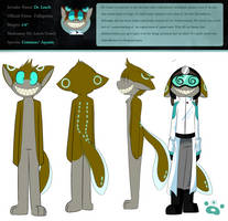 Commander Dr. Leech Ref by Void-Shark