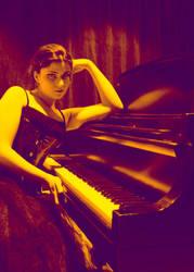 Aah, my piano... by Nishimasu