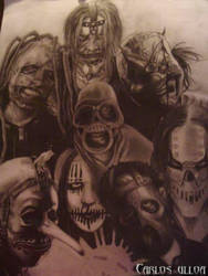 SLIPKNOT by zombie22