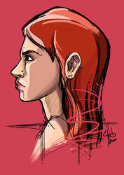 Girl Face by chicolam