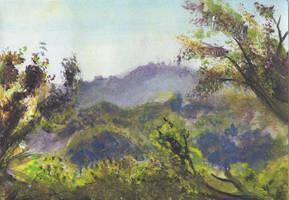 landscape by animatey