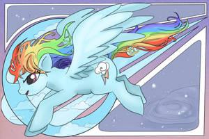 Rainbow Dash by animatey