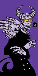 creepy pervert-mode activate by Grim-Amentia