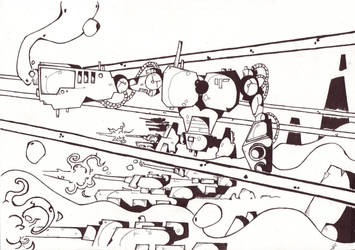 Tanks and Bots by tousansons