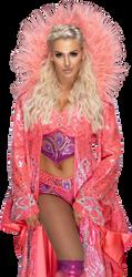 Charlotte Flair SummerSlam 2018 NEW Render by AmbriegnsAsylum16