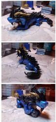 Little Fat Oriental Style Dragon by FatDragonArtworks