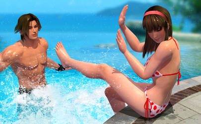 Water Play II by RadiantEld