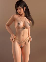 Dead or Alive DOA Kokoro Fortune by RadiantEld