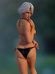 DOA Christie Zack Island Bikini by RadiantEld