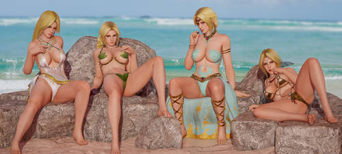 Goddess Beach by RadiantEld