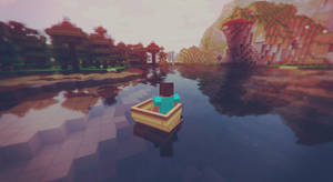 Water Fall - Minecraft by MuuseDesign