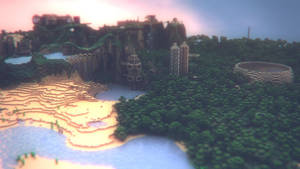 Minecraft Landscape - III by MuuseDesign