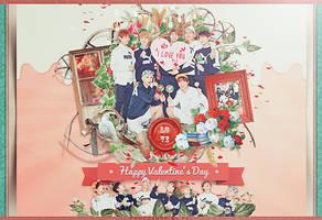 BTS-Happy Valentine's Day by Siguo