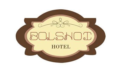Logotipo Hotel Bolshoi| Myrdesign by Myrdesign
