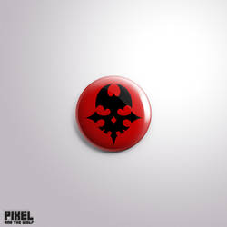 Pin #228 (Red Skull) - The World Ends With You by pixelandthewolf