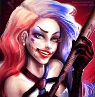 Harley Quinn by fragile-creation