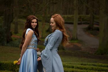 Margaery and Sansa by anouckvos