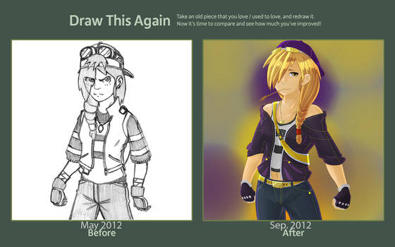 Draw this again: Michelle by JofJAX