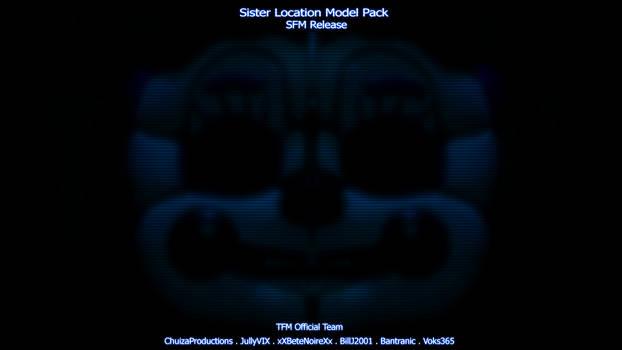 [FNaF:SL] TFM Sister Location Pack SFM Release! by JullyVIX
