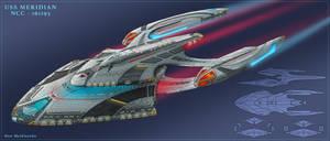 USS Meridian by DonMeiklejohn