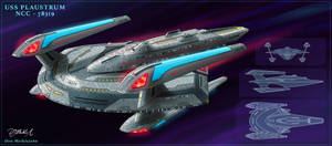 USS Plaustrum by DonMeiklejohn