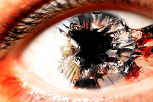 Dark Side V Eye Shot You by paradoxchild