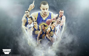 Stephen Curry 'Race For MVP' Wallpaper by AMMSDesings