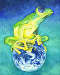 Frog by RavensLore