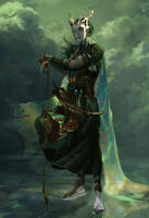 Njord god of the sea by Emiroth