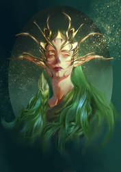 Forest Queen by Emiroth