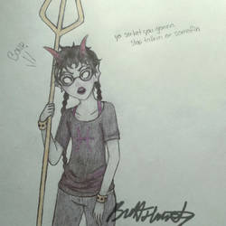 Meenah Peixes by swimming-in-chaos