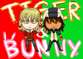 Tiger and Bunny by Kiwi-Kamikaze