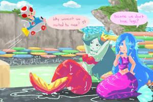 Mermaids by Kiwi-Kamikaze