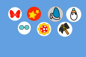 Mario kart 8 Deluxe: DLC Character's Symbols by ColorfulDJ