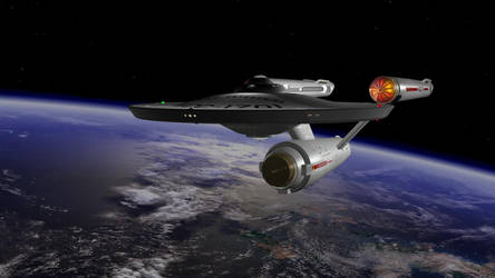 Kirk Enterprise 3 by Robbzilla63