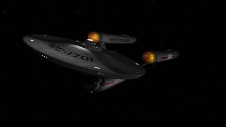 Kirk Enterprise 1 by Robbzilla63